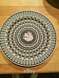 1 of 2-MUSEUM SERIES Wedgwood Tricolor JASPERWARE AURORA Plate OR Dice Bowl MINT