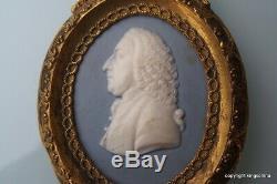 1790 Wedgwood JASPERWARE Portrait Miniature WILLIAM PITT PRIME MINISTER vase
