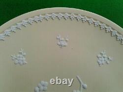 8 Wedgwood Primrose Yellow Prunus Blossom Jasperware Plate