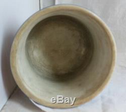 Antique 19th Century WEDGWOOD Dark Blue White Jasperware Planter Cache Pot