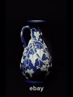 Antique 19th WEDGWOOD Jasperware Vase RARE