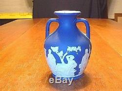 Antique Cobalt Blue Wedgwood Jasperware Portland Vase