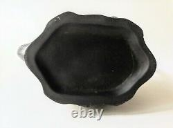 Antique English Black Basalt Egyptian Jasperware Porcelain Coffee Pot c. 1800