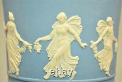 Antique Original Vintage Wedgewood Jasperware Porcelain Urn Tureen Compote Vase