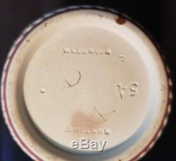 Antique Rare CRIMSON Old Wedgwood Jasperware Creamer Jug Pitcher Beaker ENGLAND