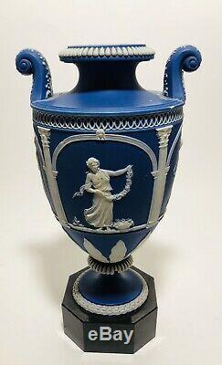 Antique Turner James Neale (C. 1760-1803) Jasperware urn vase Wedgwood Style