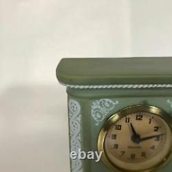 Antique Wedgwood Green Jasperware Mental Clock Case