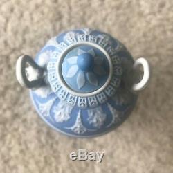 Antique Wedgwood Jasperware Dancing Hours Covered Urn 7 Circa 1910