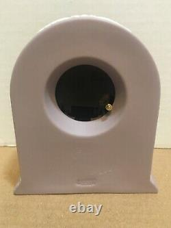 BEAUTIFUL RARE LILAC WEDGWOOD CLOCK 250th Anniversary-Needs Battery