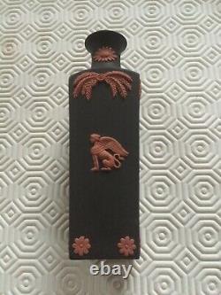 Beautiful Wedgwood Egyptian Terracotta on Black Jasperware. 4 fantastic pieces