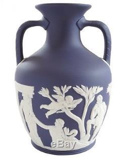 Boxed Wedgwood Portland Vase Boxed Portland Blue Jasperware