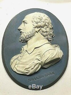C. 1778 Rare Wedgwood/bently Shakespear Plaque 4x3 Early Wedgwood Original