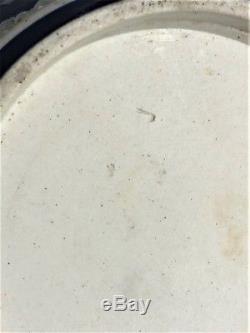 C. 1881 Wedgwood Tri-Color Jasperware Biscuit BarrelINVERTED BELLPANATHENEA