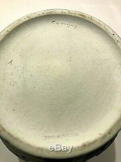 C. 1891 Wedgwood Cobalt Blue Dipped Jasper Ware 6 Portland Vase Nice SHARP