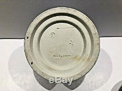 C. 1893 CODE X Wedgwood COBALT BLUE JASPERWARE Lidded Olympus Jar NICE