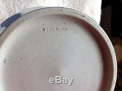 C. 1895 Wedgwood Dark Blue Dip Jasper Ware 6 Portland Vase MINT & NICE