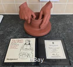 Colin melbourne terracotta JASPERWARE HANDS of the POTTER sculpture MODEL 45/500