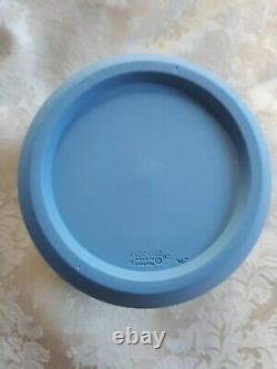 Elegant Wedgwood Blue Jasperware Jardiniere Cache Pot
