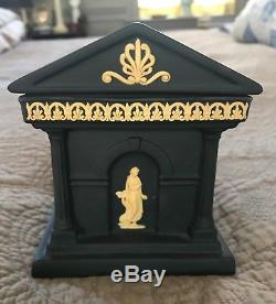 Grandtour Wedgwood jasperware temple inkwell from library collection