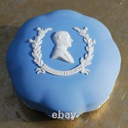HRH Duke of Edinburgh Prince Philip Wedgwood Jasperware Box