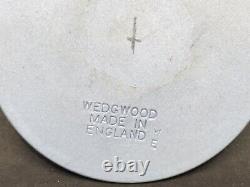 Large Wedgwood Blue & Black Medusa Jasperware Medallion (Y2 121)