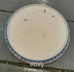 Large Wedgwood Style Dudson Stilton Cheese Dish Platter Dome Jasperware Cherubs