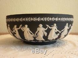Lovely Wedgwood Dancing Hours 10 Jasperware Bowl