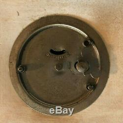 Lovely Wedgwood Jasperware Dark Blue 19th cent. Mantle Clock