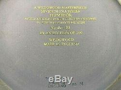 Masterpiece Wedgwood Jasperware Humidor Limited Edition #33/200 New Mint