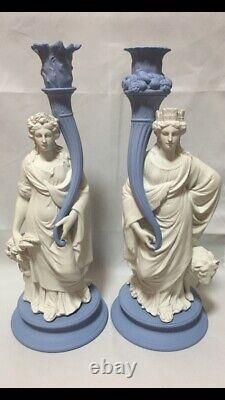 Mega Rare Wedgwood Ceres & Cybele Candlestick. Limited Edition Of 150 Boxed- COA