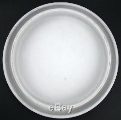 Poss. Wedgwood White Cobalt Blue Dip Jasperware Oak Leaf Cheese Keeper Bell Dome