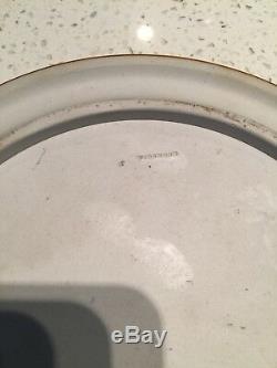 RARE! Antique Wedgwood Jasperware Sage Green & White Cake Cheese Plate & Lid