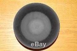 Rare Vintage Wedgwood Terracotta Black Jasper Ware Egyptian Nile Round Bowl