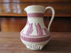 Rare Wedgwood Collectors Society Primrose Terracotta Jasperware Etruscan Jug MIB