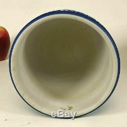 Rare Wedgwood Dark Blue Jasperware Planter Cache Pot Founding Fathers Washington