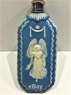 Rare Wedgwood Horae Jasperware Scent Bottle With Stopper (c. 1800) Stunning-rare
