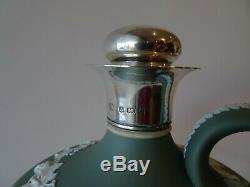 Rare Wedgwood Jasper Ware Flask