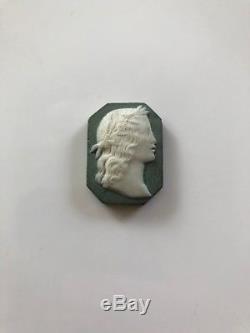 Rare Wedgwood Jasperware Bert Bentley Neo-classical Medallion Cameo (c. 1890s)