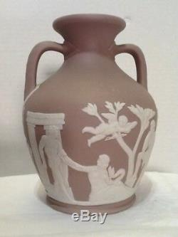 Rare Wedgwood Lilac Slip Jasperware 6 Portland Vase