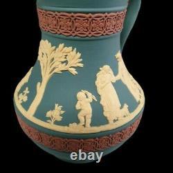 Rare Wedgwood Limited Edition Tricolor Etruscan Jasperware Jug