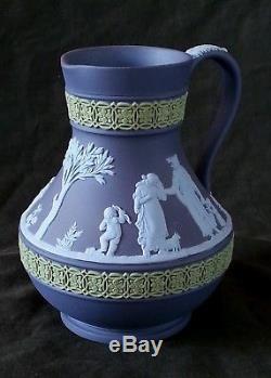Rare Wedgwood jasperware jug, 5.5 inches