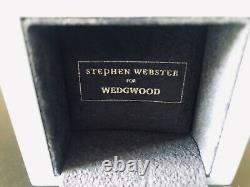 STEPHEN WEBSTER Best Of British Bulldog Ring Wedgwood Jasperware Size 5 NIB Rare