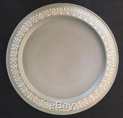 Sage Green Jasperware Cheese Dome by Duddingston Rare Silvery Grey Green Colour