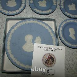 Superb Large Collection of Wedgwood Jasperware Blue, Green & Pink Including Rare