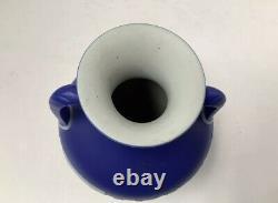 Superb Quality Wedgwood Dark Blue Jasper Dip 5 3/4 Portland Vase C1820