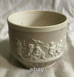 Very Old Wedgwood Lilac Dipped Jasperware 2 3/4 Inch Tea Cup