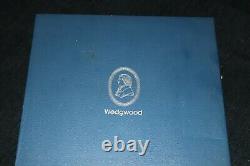 Very Rare 1973 Wedgwood Jasper Portrait Medallions In Fitted Box Ltd Ed 34/200