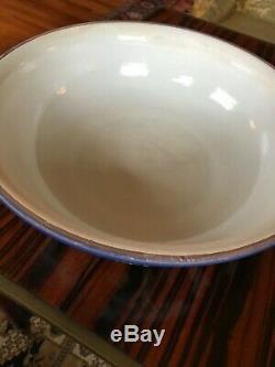 Very large Antique Wedgwood England Jasperware Bowl 15