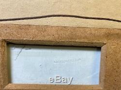 Vintage Framed Wedgwood Green Jasperware Plaque Cherubs Children Putti