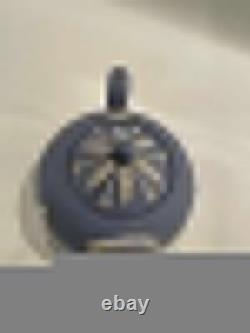 Vintage Light Blue Wedgwood Jasperware Tea Pot